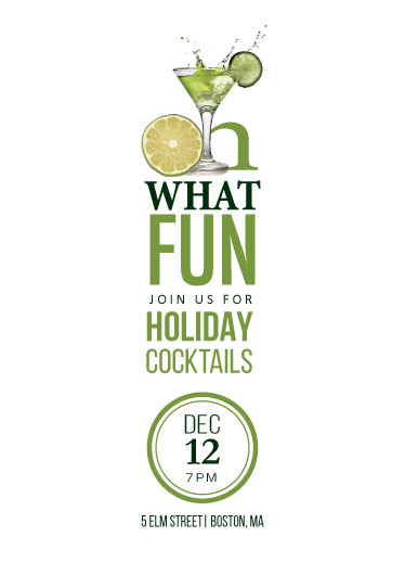 party invitations - Holidays, Oh What Fun by Heather Bastos
