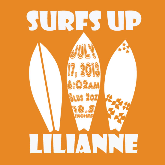 art prints - Surfs Up by Melissa Jensen