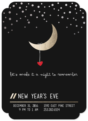 party invitations - New Years Eve Night to Remember by PotatoMuffin
