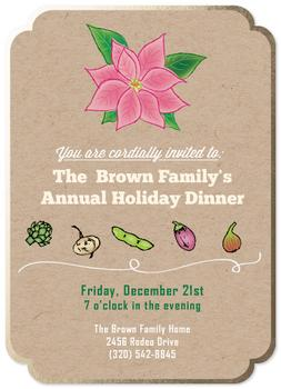 Warm Holiday Dinner Party