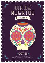 Dia de muertos Party by Ele Papers