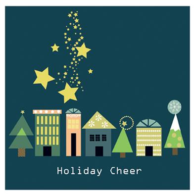 party invitations - Holiday Cheer by Tamara Csengeri