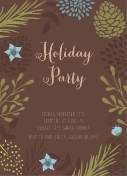 Happy Season Party Invitation