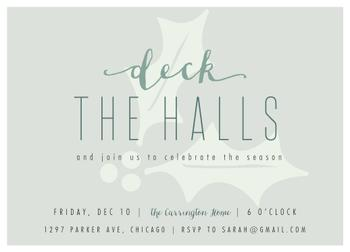 deck the holly halls