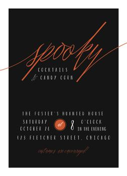 Spooky Cocktail Party