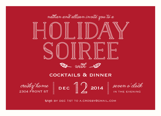 party invitations - Soiree by Kaydi Bishop