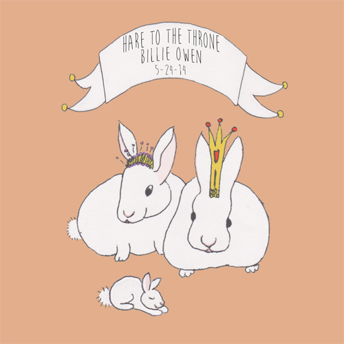 art prints - Hare To The Throne by Lanna Borom