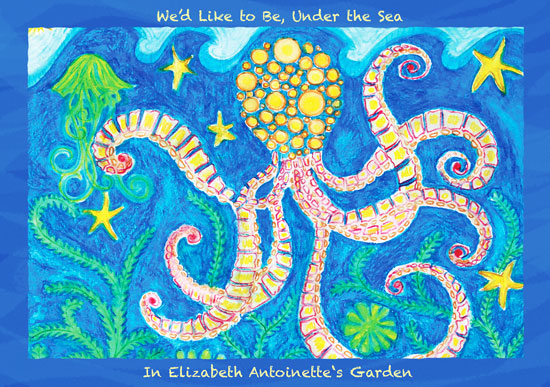 art prints - Octopuses Garden by Tess Williams