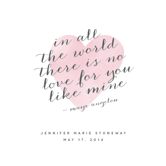 art prints - Love Like Mine by Kimberly FitzSimons