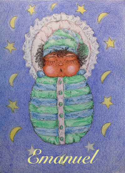 art prints - New born baby boy 2 by Marta