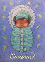 New born baby boy 2 by Marta