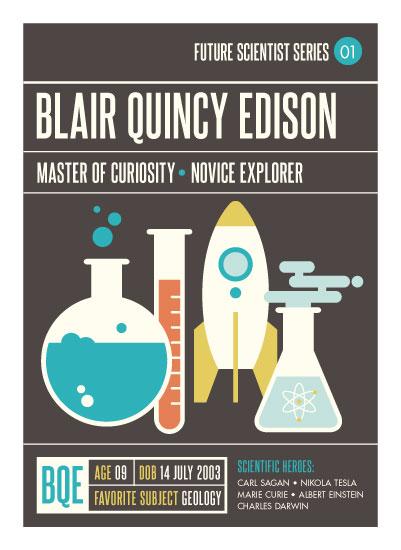 art prints - Scientific Exploration by kat bison