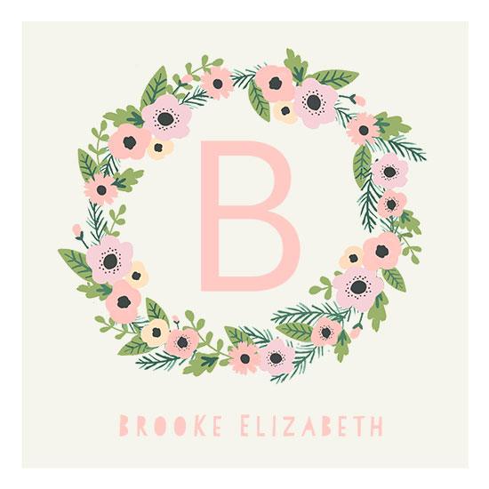 art prints - Floral Wreath by August and Oak