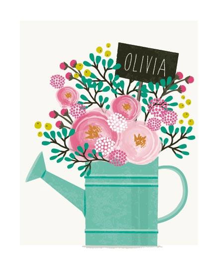 art prints - Little Gardener by Karidy Walker