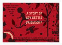Boy beetle friendship by Tali Levanon