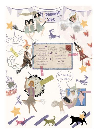 art prints - scrap book page by Tali Levanon