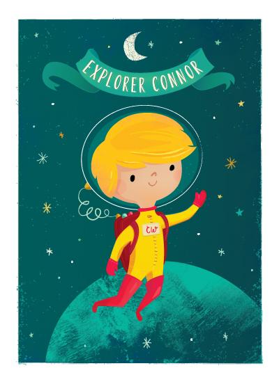 art prints - Space Explorer by Lori Wemple