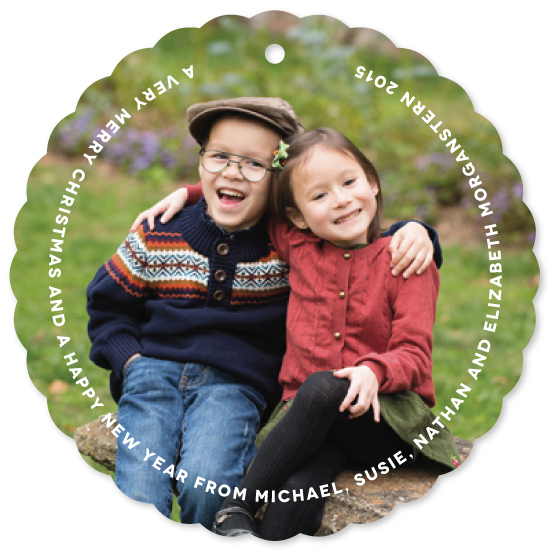 holiday photo cards - Framed by Kim Dietrich Elam
