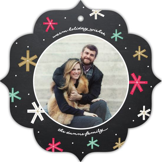 holiday photo cards - Festive Starburst by Erica Krystek