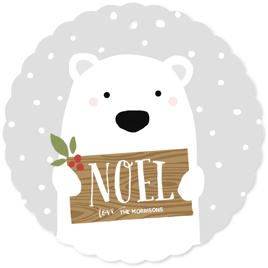 holiday photo cards - Polar Bear by August and Oak