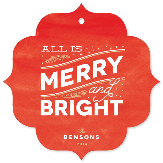 holiday photo cards - Merry Bright by Leah Bisch