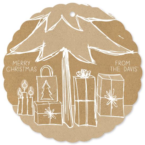 holiday photo cards - Christmas Sketch by Mandy Davis