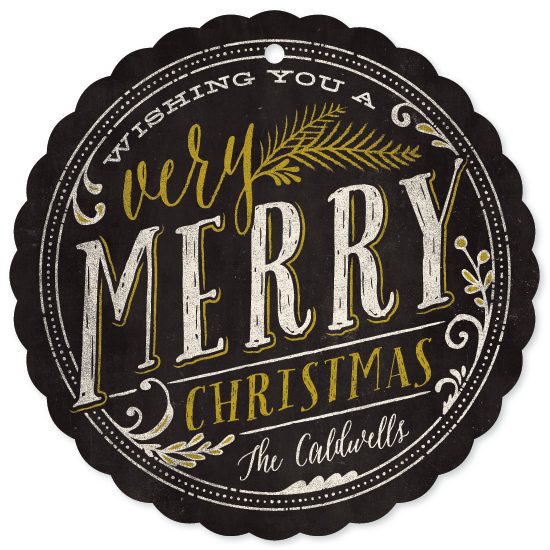 holiday photo cards - Very Merry by GeekInk Design