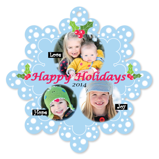 holiday photo cards - Let's smile! by Seo Yoon Jung