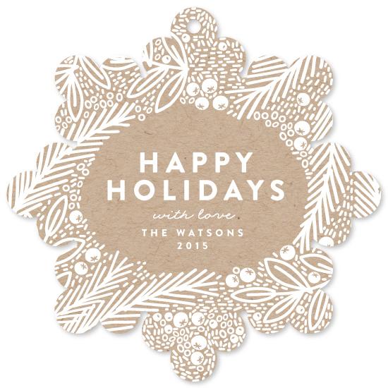 holiday photo cards - Snow Kraft by Phrosne Ras
