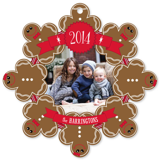 holiday photo cards - Gingerbread Friends by Kim Carey Design
