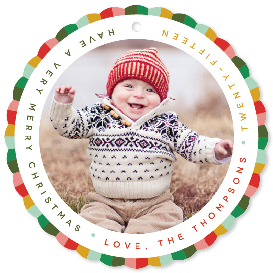 holiday photo cards - Circus Elf by Snow and Ivy