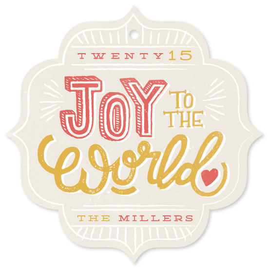 holiday photo cards - World Joy by Snow and Ivy