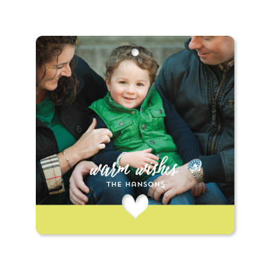holiday photo cards - Color Dipped by Laura Hankins