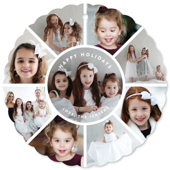 holiday photo cards - family circle holiday by Guess What Design Studio
