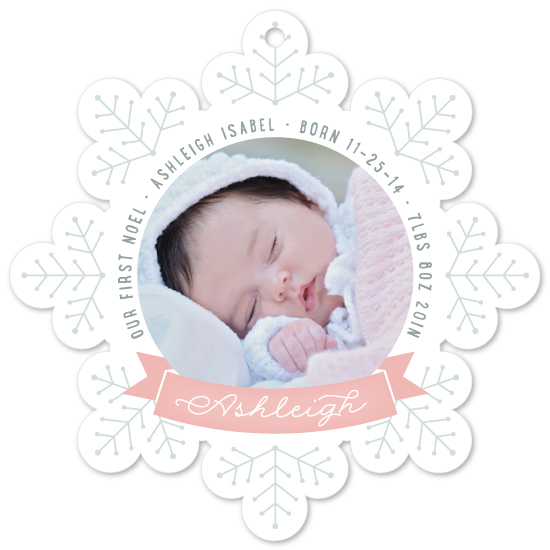 holiday photo cards - Our First Noel by Hooray Creative