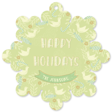 holiday photo cards - sweet & peaceful by Tali Levanon