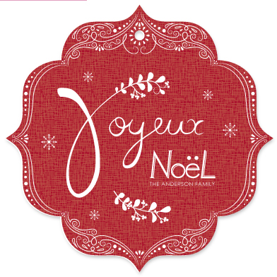 holiday photo cards - beautiful hand-lettering by jody-claire