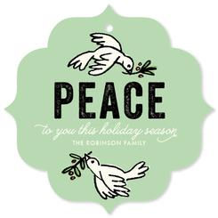 Peace Doves Frame