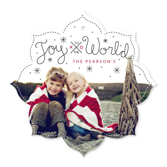 holiday photo cards - A World of Joy by Rose Design