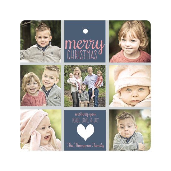 holiday photo cards - Christmas Grid by Kerry Angeles