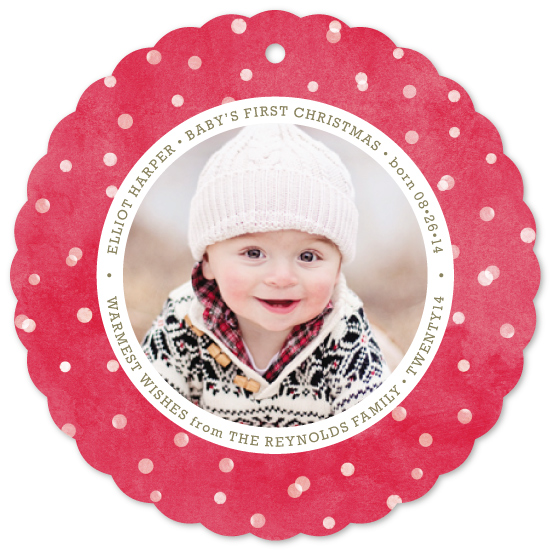 holiday photo cards - First Snow by Hooray Creative