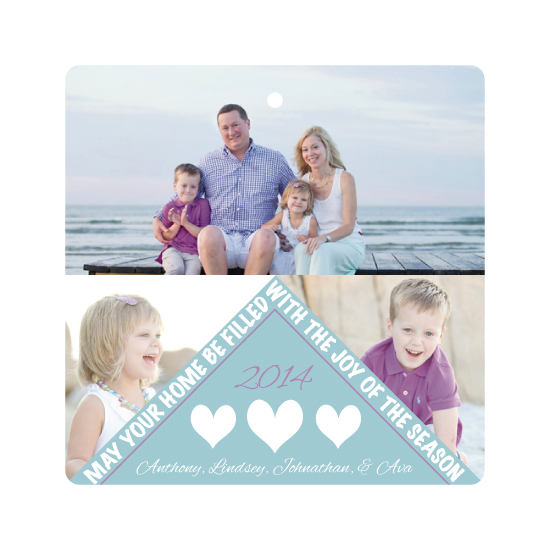 holiday photo cards - Modern Joy by Kerry Angeles