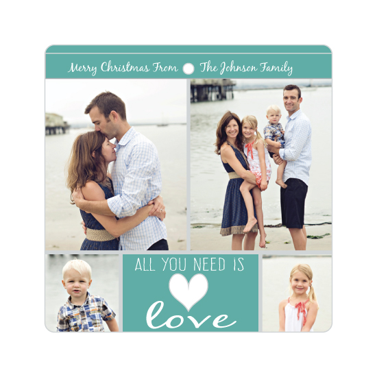 holiday photo cards - All You Need Is by Kerry Angeles