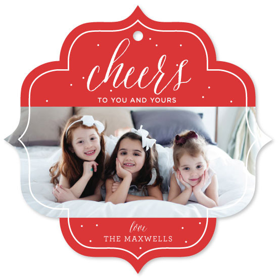 holiday photo cards - cheers to you by Kelly Schmidt