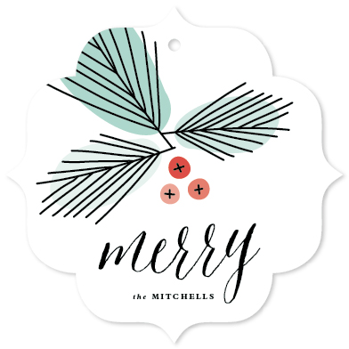 holiday photo cards - Merry Branches by Stacey Meacham