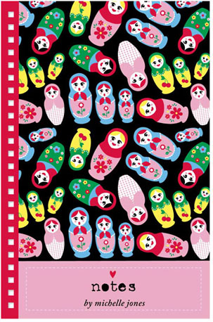journals - Russian Dolls by Michelle Blum