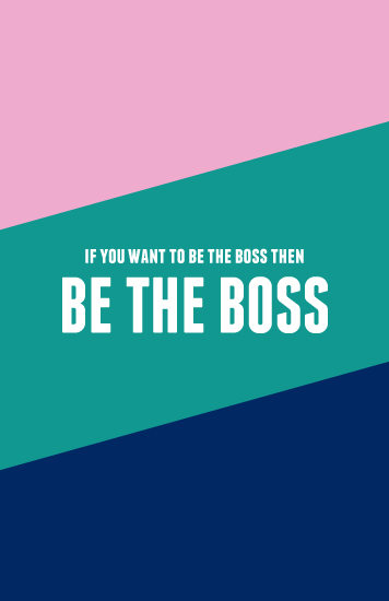 journals - Be The Boss by Melissa DiRenzo