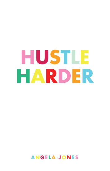 journals - Hustle Harder by Melissa DiRenzo