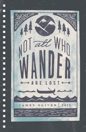journals - Wander by Lori Wemple