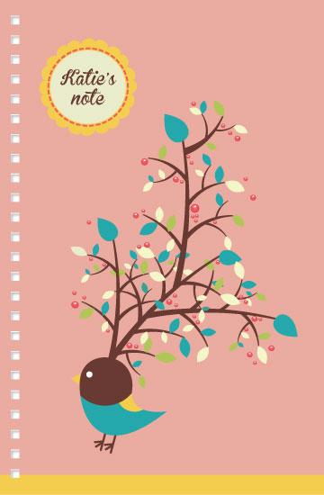 journals - Cheerful bird by Siutaam